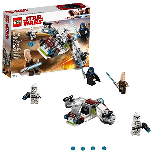 レゴ スターウォーズ 【送料無料】LEGO Star Wars Jedi & Clone Troopers Battle Pack 75206 Building Kit (102 Pieces)レゴ スターウォーズ