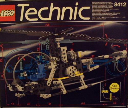 レゴ テクニックシリーズ Lego Technic 8412 Nighthawk Hellicopterレゴ テクニックシリーズ