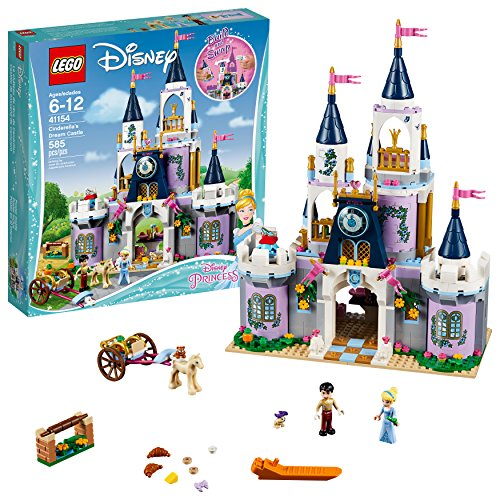 レゴ ディズニープリンセス 【送料無料】LEGO Disney Princess Cinderella's Dream Castle 41154 Popular Construction Toy for Kids (585 Pieces)レゴ ディズニープリンセス