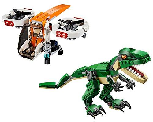 レゴ クリエイター LEGO CREATOR 3 in 1 Drone Explorer and LEGO CREATOR Mighty Dinosaurs BUNDLEレゴ クリエイター