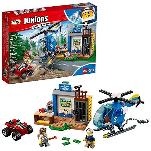 レゴ 【送料無料】LEGO Juniors/4+ Mountain Police Chase 10751 Building Kit (115 Piece), Standardレゴ