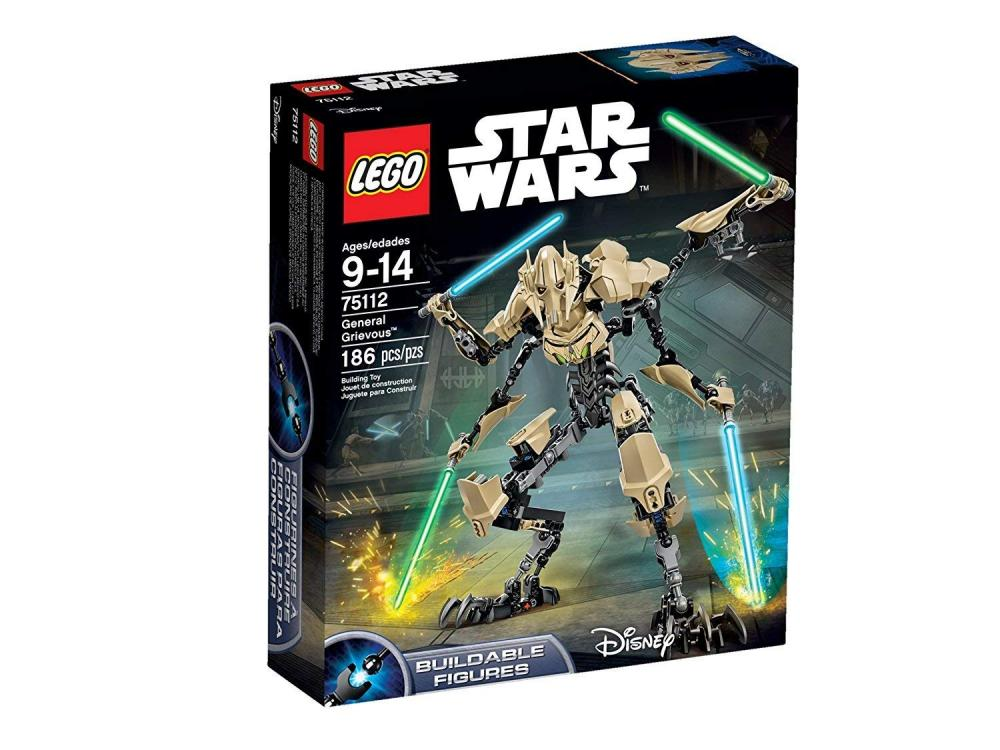 レゴ スターウォーズ LEGO General Grevious - 75112レゴ スターウォーズ