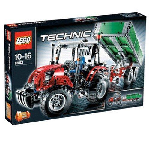 レゴ テクニックシリーズ 【送料無料】LEGO Technic Set #8063 Tractor with Trailerレゴ テクニックシリーズ