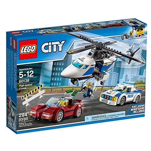 レゴ シティ LEGO City Police High Speed Chase 60138, Imaginative Toys, 2017 Christmas Toysレゴ シティ