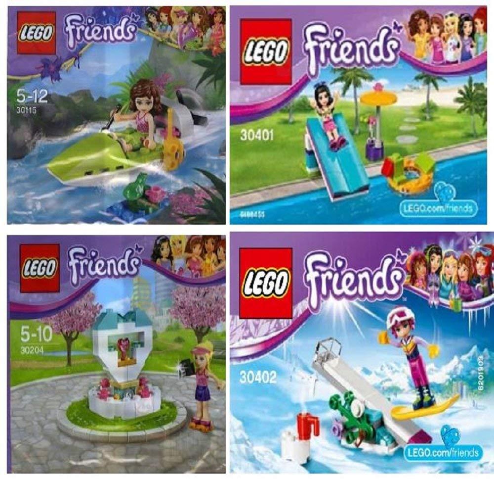レゴ フレンズ Lego Friends 30115 30204 30401 30402: Four different polybagged setsレゴ フレンズ