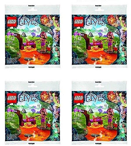 レゴ エルフ Lego Elves 30259 Azari's Magic Fire Bagged Set of 4 Party Favorsレゴ エルフ