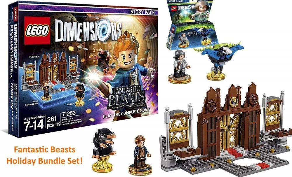 レゴ New Fantastic Beasts Bundle - Fantastic Beasts Story Pack & Lego Dimensions Limited Gift Setレゴ