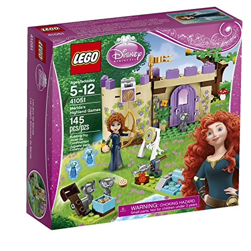 レゴ ディズニープリンセス 【送料無料】LEGO Disney Toys Premium Princess Merida Castle Set with Minifigures for 6 Year Olds Childrenレゴ ディズニープリンセス