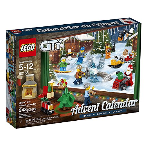 レゴ シティ Lego Educational Toys Premium Kids City Advent Legos Calendar Set With Minifigures For 5 Year Olds & Upレゴ シティ
