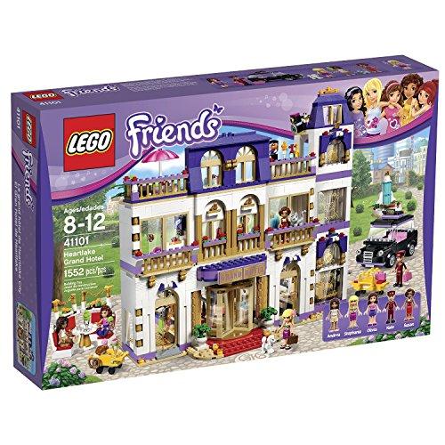 レゴ フレンズ 1552 Pieces, 3 Modular Stories Grand Hotel Building Kitレゴ フレンズ