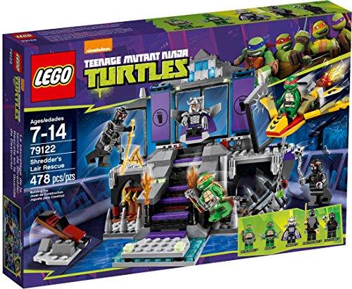 レゴ LEGO Teenage Mutant Ninja Turtles Theme - 79122 Shredders Lair Rescueレゴ