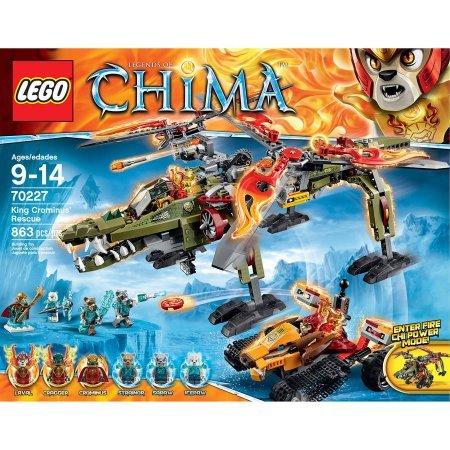 レゴ チーマ 863 Pieces LEGO Chima King Crominus' Rescue Model#70227レゴ チーマ