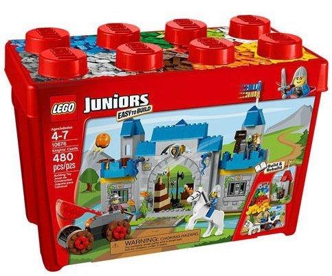 レゴ LEGO Juniors #10676 Knights Castle 408pcs Set New In Box Sealed #10676レゴ