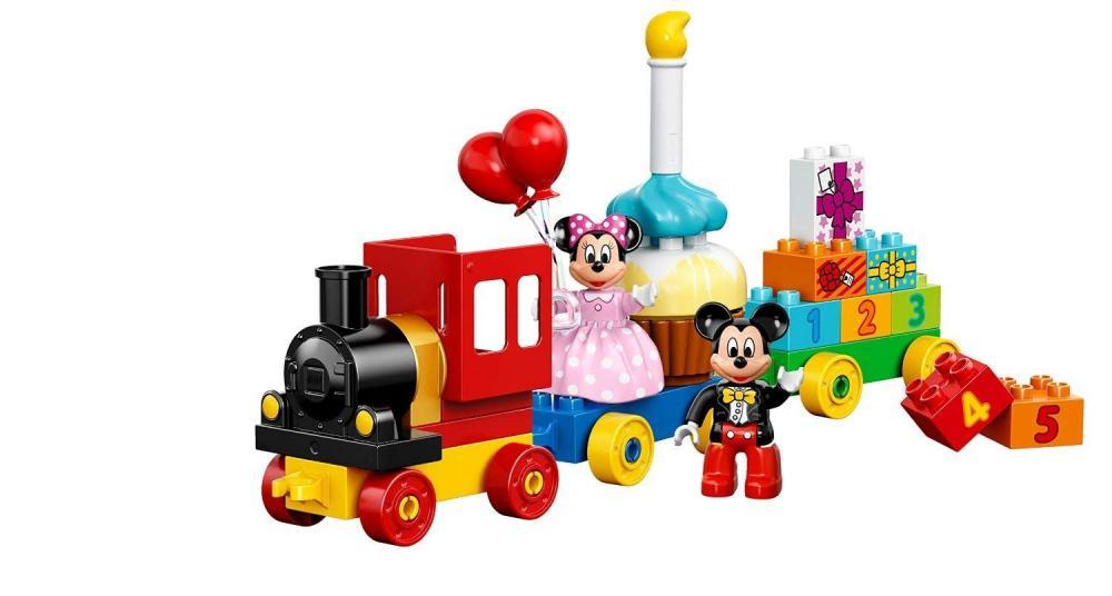レゴ デュプロ Building Block LEGO DUPLO (24 Pcs) Mickey and Minnie Birthday Figures Toysレゴ デュプロ