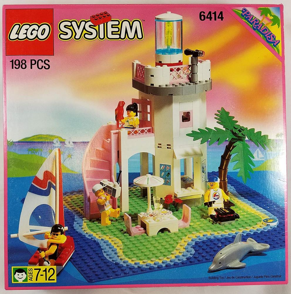 レゴ Lego Paradisa Dolphin Point 6414レゴ