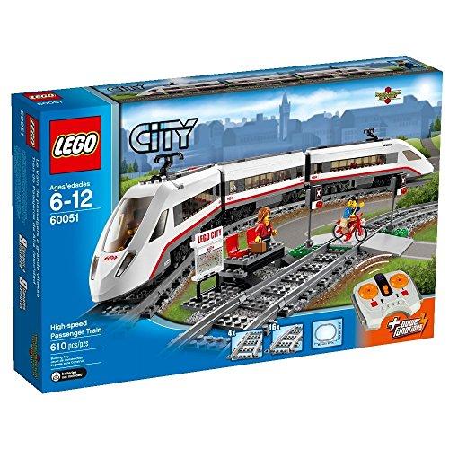 レゴ シティ 【送料無料】LEGO High-Speed Passenger Train Building Toy with 16 Curved Rail Tracks, Train Driver & Moreレゴ シティ