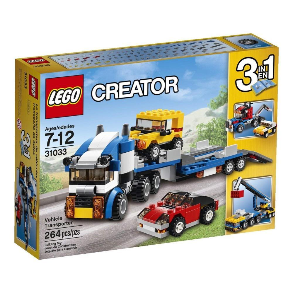 レゴ クリエイター Building Block LEGO Creator (264pcs) Vehicle Transporter Toy for Kids Figures Toysレゴ クリエイター