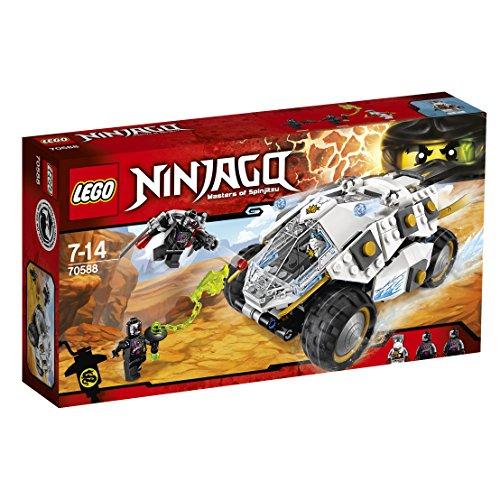 レゴ ニンジャゴー Lego Ninja Go titanium type power Mobil 70588レゴ ニンジャゴー
