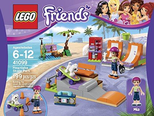 レゴ フレンズ LEGO Friends 41099 Heartlake Skate Park Building Kit Put Charlie On The Skateboard And Pull Him Along Order Now! With E-book Gift@レゴ フレンズ