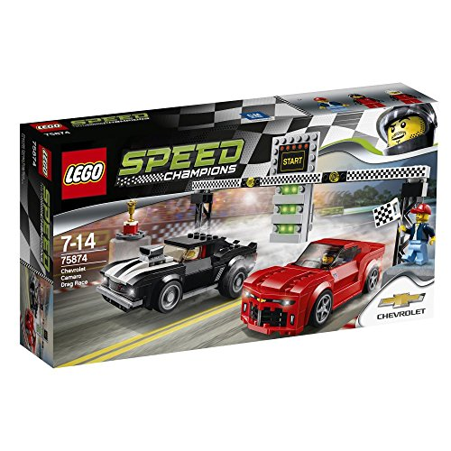 レゴ LEGO Speed Champions Chevrolet Camaro Drag Race 75874レゴ