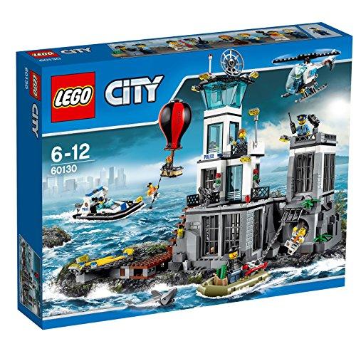 レゴ シティ LEGO City 60130 - Polizeiquartier auf der Gef?ngnisinselレゴ シティ