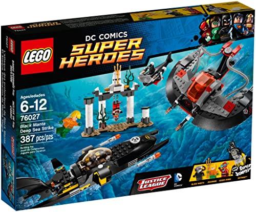 レゴ スーパーヒーローズ マーベル DCコミックス スーパーヒーローガールズ 【送料無料】LEGO Superheroes 76027: Black Manta Deep Sea Strikeレゴ スーパーヒーローズ マーベル DCコミックス スーパーヒーローガールズ