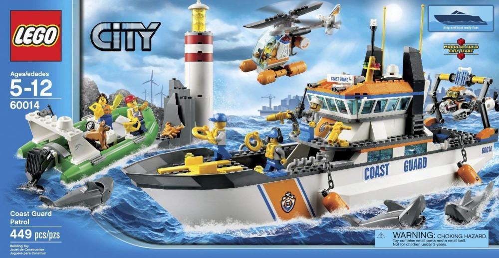レゴ シティ LEGO City Coast Guard Patrol (449pcs) Figures Building Block Toysレゴ シティ