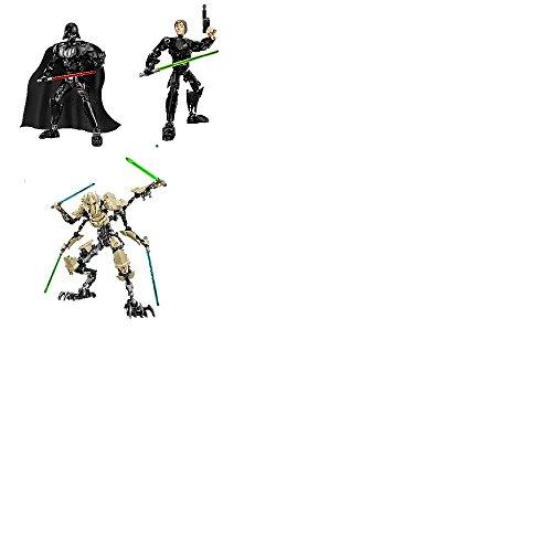レゴ スターウォーズ Lego Star Wars Luke Skywalker 75110 & Darth Vader 75111 & General Grievous 75112 - 3 pack setレゴ スターウォーズ