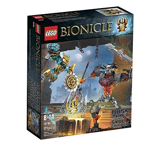 レゴ バイオニクル 【送料無料】LEGO Bionicle 70795 Mask Maker vs. Skull Grinder Building Kit (Discontinued by manufacturer)レゴ バイオニクル
