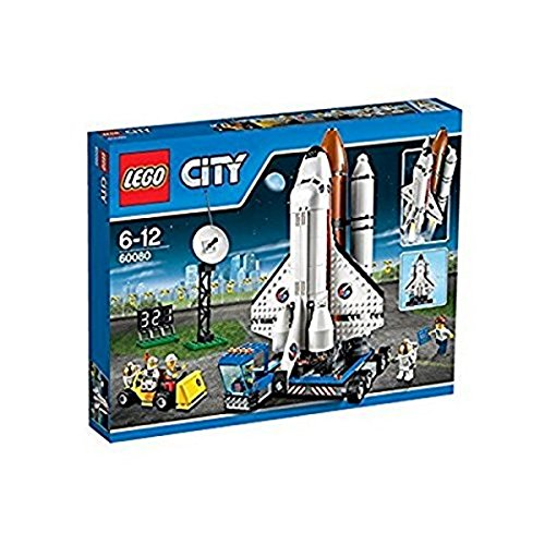 レゴ シティ 【送料無料】LEGO City Spaceport Space Shuttle 586-Piece Kids Play Building Kit | 60080レゴ シティ
