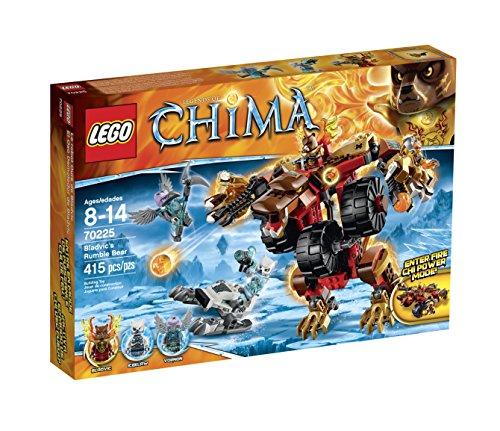 レゴ チーマ 70225 LEGO of Legends of Chima 70225 Bladvic's Rumble チーマ Bear Building Kitレゴ チーマ, せんべい造り百年 幸煎餅:9806b56b --- krianta.ru