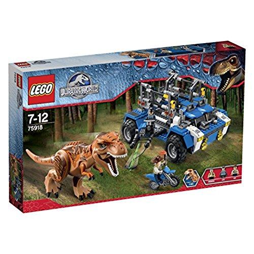 レゴ 【送料無料】LEGO New Jurassic World T. Rex Tracker 75918 Building Kit from Japanレゴ
