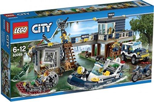 レゴ シティ LEGO City Swamp Police Station Kids Building Playset with 4 Vehicles | 60069レゴ シティ