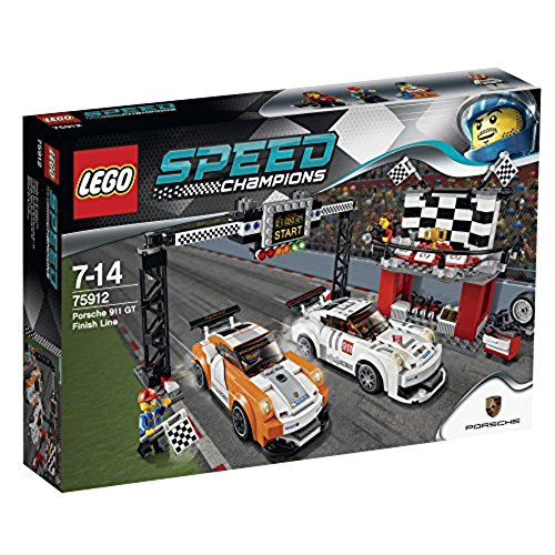 レゴ LEGO Speed Champions Porsche 911 GT Finish Line 75912レゴ