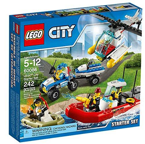 レゴ シティ 【送料無料】LEGO CITY City Starter Set Kids Building Playset - 242 Piece | 60086レゴ シティ