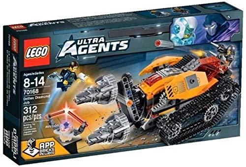 レゴ LEGO Agents 70168: Drillex Diamond Jobレゴ