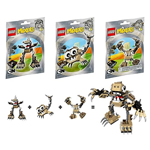 無料ラッピングでプレゼントや贈り物にも 激安卸販売新品 逆輸入並行輸入送料込 レゴ 送料無料 LEGO Mixels Series 3 誕生日プレゼント Bundle Set 41523 Hoogi 41521 41522 and Spikels Scorpi of Footi