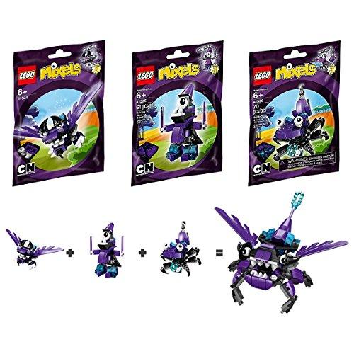 レゴ LEGO, and Mixels Series 3 Wiztastics, Bundle Set of Wizwuz Wiztastics, Mesmo (41524), Magnifo (41525), and Wizwuz (41526)レゴ, 青い目:8e04b301 --- m2cweb.com