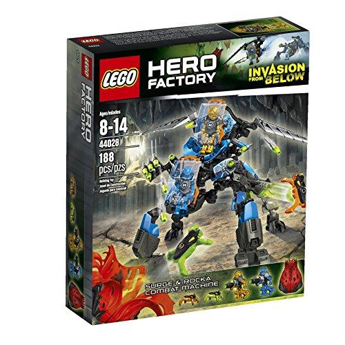 レゴ LEGO Hero Factory Surge and Rocka Combat Machine 44028 Building Setレゴ