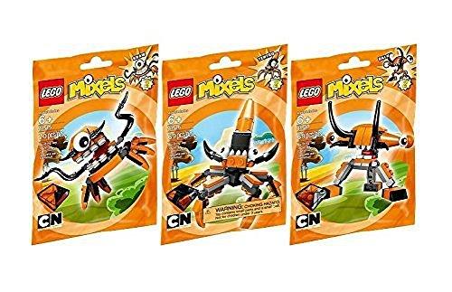 レゴ LEGO, Mixels Series 2 Bundle Set of Flexers, Kraw (41515), Tentro (41516), and Balk (41517)レゴ