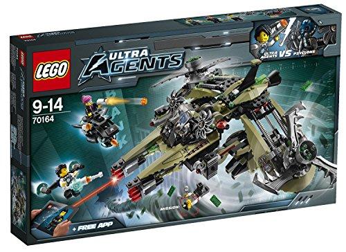 無料ラッピングでプレゼントや贈り物にも 逆輸入並行輸入送料込 レゴ 送料無料 アウトレット�送料無料 LEGO Agent Hurricane Ultra Robbery 70164レゴ 注文後の変更キャンセル返品