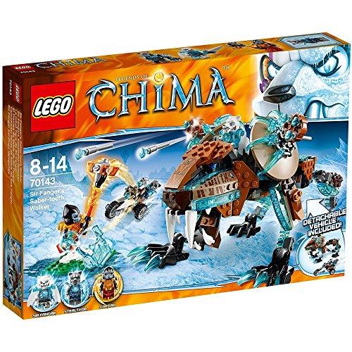 レゴ チーマ LEGO: Chima: Sir Fangar's Saber-Tooth Walkerレゴ チーマ