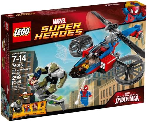 レゴ スーパーヒーローズ マーベル DCコミックス スーパーヒーローガールズ LEGO Super Heroes 76016: Spider-Helicopter Rescueレゴ スーパーヒーローズ マーベル DCコミックス スーパーヒーローガールズ