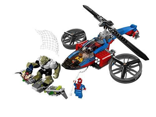 レゴ スーパーヒーローズ マーベル DCコミックス スーパーヒーローガールズ LEGO Marvel Super Heroes The Amazing Spider-Man Helicopter Rescue | 76016レゴ スーパーヒーローズ マーベル DCコミックス スーパーヒーローガールズ