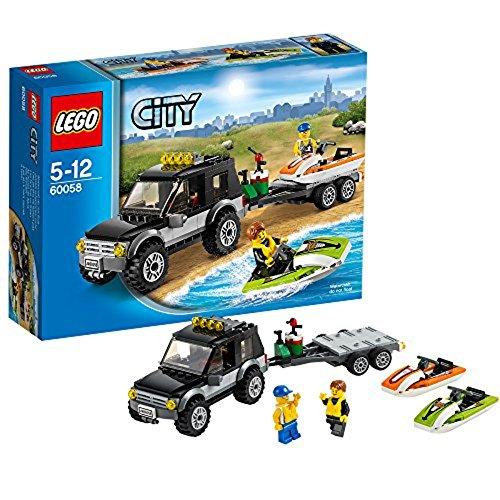 レゴ シティ 【送料無料】LEGO City Great Vehicles 60058: SUV with Watercraftレゴ シティ