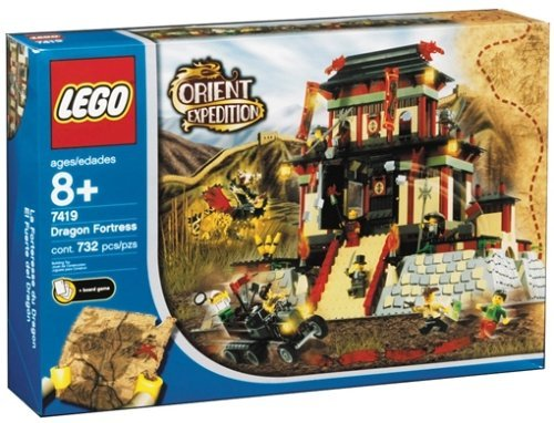 レゴ Castle 7419 adventure series Golden Dragon of Lego World (japan import)レゴ