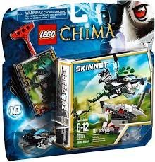 レゴ チーマ Game / Play LEGO Chima 70107 Skunk Attack, Features wolf head with target, skunk Speeder, ripcord, power-up Toy / Child / Kidレゴ チーマ