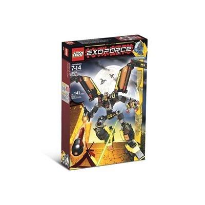 レゴ 【送料無料】Lego Year 2007 Exo-Force Series Mecha Vehicle Figure Set # 8105 - IRON CONDOR with Mechanical Wings, Talons, Firing Missile Plus Devastator the Robot Pilot Minifigure and Special Web Code (Total Pieces: 141)レゴ