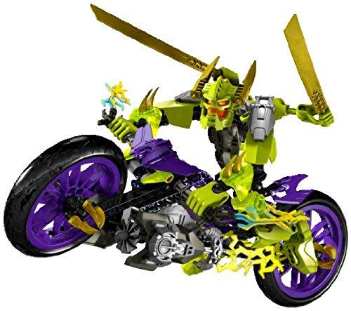 レゴ LEGO HERO FACTORY Green Speeda Demon w/ Motorcycle Motor Bike | 6231レゴ