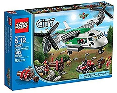 レゴ シティ LEGO CITY Cargo Heliplane & ATV Quadbike with 3 Minifigures | 60021レゴ シティ